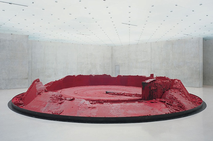 Anish Kapoor. My Red Homeland